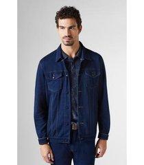 jaqueta box jeans santana reserva masculina