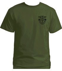 us ops special forces de opresso liber green berets army green graphic t-shirt