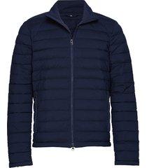 m ease sweater-jl down gevoerd jack blauw j. lindeberg ski
