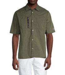 champion men's standard-fit eco warrior shirt - golden khaki - size s