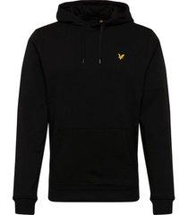 sweater lyle scott brushed zip hoodie