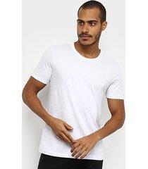 camiseta t-shirt hering slim básica masculina - masculino