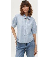 blus celeste blouse