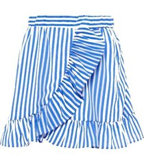 lmtd blauw gestreepte rok kaya