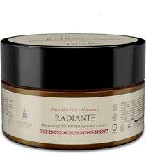 manteiga hidratante radiante vegana para corpo e cabelos aloe vera e murumuru ahoaloe 250g