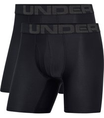 boxershorts ua tech boxerjock 6 in, 2-pack
