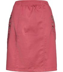 sc-akila knälång kjol rosa soyaconcept