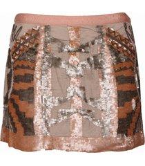 mariel skirt - guess - rokken - zalm