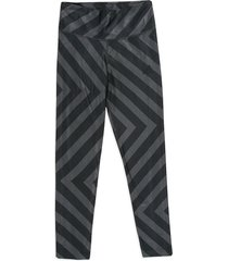 leggings gris-negro adidas performance