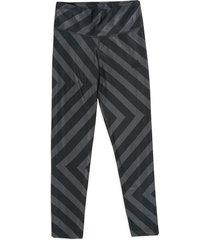 leggings gris-negro adidas performance