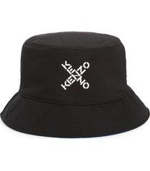 kenzo bucket hat in black/white at nordstrom