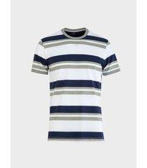 camiseta a rayas slim fit para hombre 08685