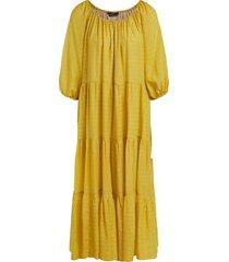 set glitter maxi dress