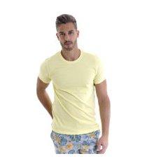 camiseta kassis básica amarela