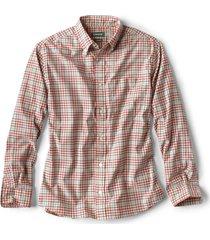 beacon stretch plain weave long-sleeved shirt