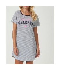 camisola espaço pijama 40709 feminina