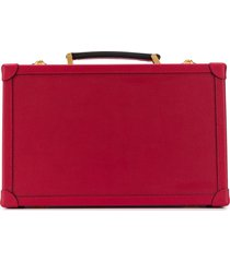 family affair embossed coffret case - red