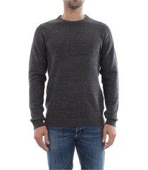 premium by jack&jones 12128918 knit knitwear men dark grey melange