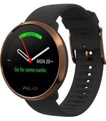 reloj deportivo ignite negro-cobre polar