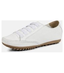 tênis torani sapatênis casual branco