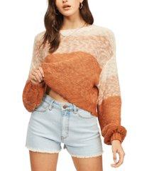 billabong multicolored cozy knit sweater