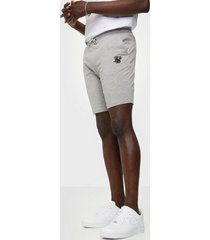 siksilk jersey shorts shorts grey marl