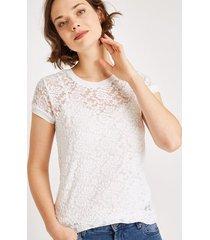 koronkowy t-shirt