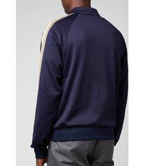 lanvin men's track suit sweater - navy blue - l