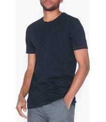 only & sons onspovel melange nf 4367 t-shirts & linnen mörk blå