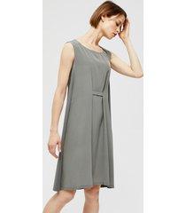 suknia jedwabna bez rękawów