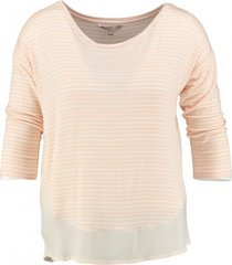 broadway shirt 3/4 mouw met blouse laag