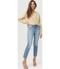 jeans meg high waist slim cropped