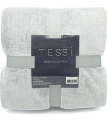 manta cationic blanket casal 1,80m x 2,20m 300g/m² - tessi - grafite