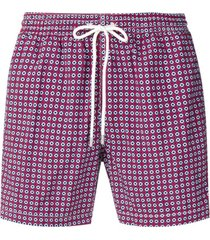 eleventy all-over print swim shorts - azul