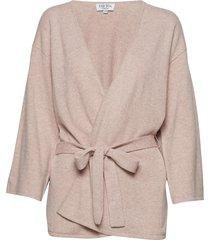 kimono kimono trui roze davida cashmere