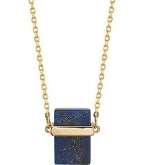 """unwritten genuine stone necklace, 16""""+2"""" extender"""