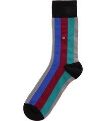 burlington socks vertical stripe socks - multicolour 20578