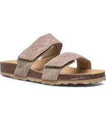biabetricia quilt vel. sandal shoes summer shoes flat sandals beige bianco
