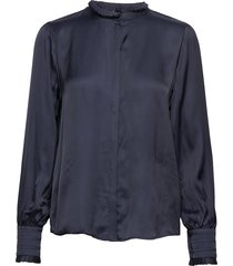baume elizabeth blouse blouse lange mouwen blauw bruuns bazaar
