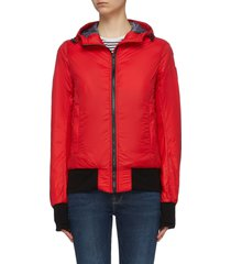 'dore' hooded down padded jacket