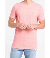 camiseta mc regular silk meia rolo gc - laranja - pp