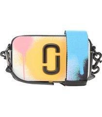marc jacobs multicolor snapshot shoulder bag