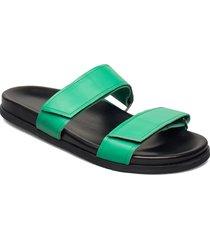 route strap sandal 201 shoes summer shoes sandals grön royal republiq