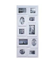 porta retrato minas de presentes 10 fotos branco