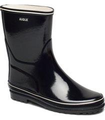 ai venise bottil noir regnstövlar skor svart aigle