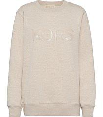 unisex tonal sweatshirt sweat-shirt tröja rosa michael kors