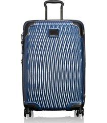 tumi latitude 27-inch short trip rolling suitcase - blue
