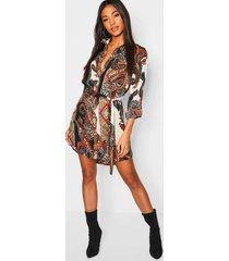 paisley blouse jurk, meerdere