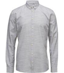 crescent skjorta business grå minimum