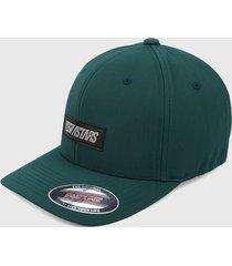 gorra verde alpinestars reflect hat